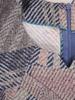 Dzianinowa sukienka z ozdobnie wyciętym dekoltem 30968