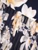 Dzianinowa sukienka z szyfonowymi rękawkami i plisami 29719