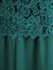 Elegancka sukienka z gipiury i szyfonu 29424