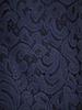 Granatowa sukienka wizytowa, kreacja z koronkowym topem 30615