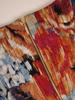 Jesienna sukienka damska w oryginalnym, kwiatowym wzorze 30958
