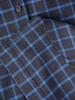 Jesienna szmizjerka w kratę, sukienka z paskiem 30944