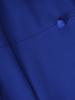 Kopertowa sukienka wyjściowa, chabrowa kreacja z paskiem 30679