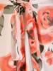 Kopertowa sukienka z ozdobnymi rozcięciami na rękawach 28985