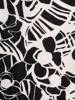 Letnia sukienka z kieszeniami, czarno-biała kreacja 30061