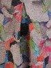 Luźna sukienka z kontrafałdą, oryginalna sukienka z dzianiny 26808