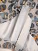 Luźna sukienka z szyfonu, kreacja z ozdobnymi guzikami i wiązaniami 30333