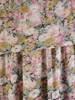 Luźna sukienka z szyfonu, zwiewna kreacja w kwiaty 30495