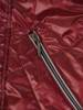 Pikowana kurtka damska na jesień w bordowym kolorze 30786