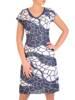 Prosta sukienka wiosenna, kreacja w oryginalnym wzorze 28285