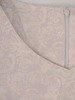 Prosta sukienka z żakardu, wyszczuplająca kreacja z połyskiem 24819