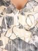 Rozkloszowana, podkreślająca biust sukienka na wiosnę  29611