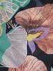 Rozkloszowana sukienka maxi, kopertowa kreacja z szyfonu 29997