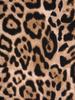 Rozpinana bluzka z ozdobnymi patkami w modne cętki 30990
