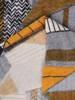 Sukienka codzienna, prosta kreacja w geometrycznym wzorze 27547