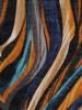 Sukienka codzienna, prosta kreacja w geometrycznym wzorze 27694