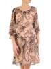 Sukienka damska na wiosnę, kreacja w oryginalny wzór 28789