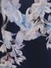Sukienka kopertowa, elegancka kreacja w kwiaty 26427