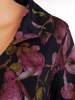 Sukienka kopertowa, wyszczuplająca kreacja z łączonych tkaniny 27046