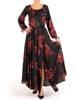Sukienka maxi, elegancka kreacja z rozcięciem 27769