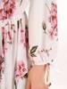 Sukienka maxi, elegancka kreacja z rozcięciem 30107