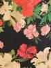 Sukienka w kwiaty z ozdobnymi falbanami 29521