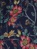 Sukienka w kwiaty, zwiewna kreacja z falbanami 25441