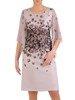 Sukienka wyjściowa, wiosenna kreacja wyszczuplająca 25669