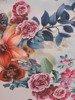 Sukienka z szyfonu, prosta kreacja w kwiaty 26644