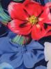 Sukienka z tkaniny, prosta kreacja w oryginalnym wzorze 26498