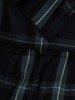 Sukienka z wiązaniem pod biustem, wyszczuplająca kreacja w kratkę 24289