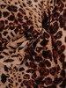 Szyfonowa bluzka z ozdobnym wiązaniem przy dekolcie 24457