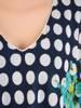 Szyfonowa, szmaragdowa sukienka maskująca niedoskonałości 29952