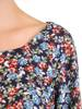 Wizytowa sukienka damska, kreacja w luźnym fasonie 30183