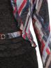Wyszczuplająca sukienka z dzianiny z imitacją żakietu 30685